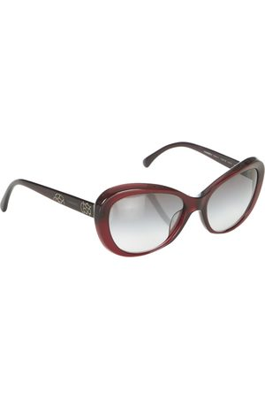 CHANEL Round Tinted Sunglasses
