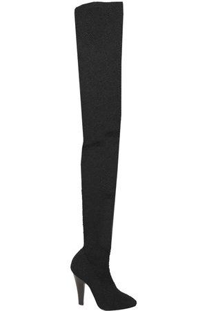 Saint Laurent Over-The-Knee Boots, Nero