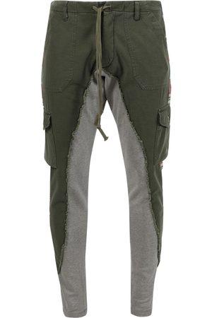 GREG LAUREN Baker Fleece 50-50 Dhurrie Slim Fit Sweat Pants