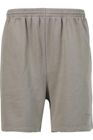 Balenciaga Sporty B Basketball Shorts Steel Grey