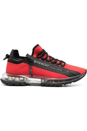 Givenchy Spectre Runner Low With Zip Red