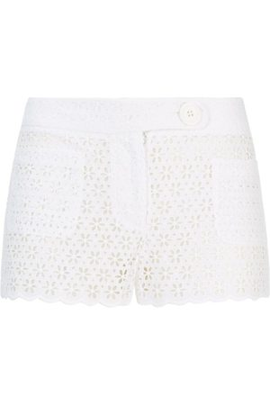 SERENA BUTE The Tailored Shorts - Lace Cotton