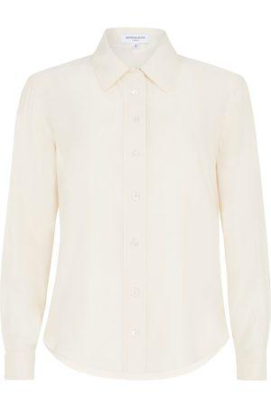 SERENA BUTE The New Serena Fitted Shirt - Sandwashed Blush Matte Silk