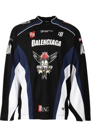 Balenciaga Long Sleeve Hockey T-Shirt