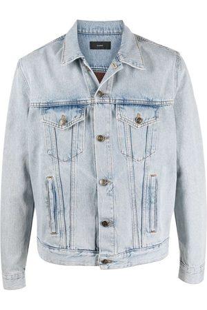 Alanui Dusty Road Bandana T&D Jacket, Light Blue