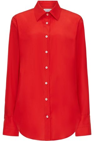 SERENA BUTE The Oversized Shirt - Bright Red