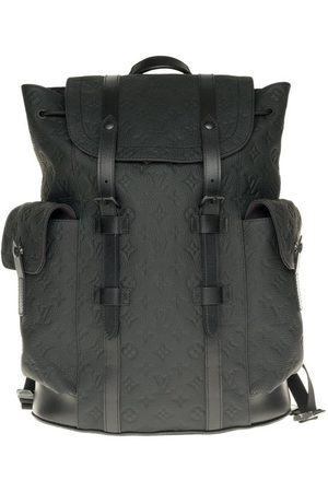 LOUIS VUITTON Taurillon Leather Embossed Backpack