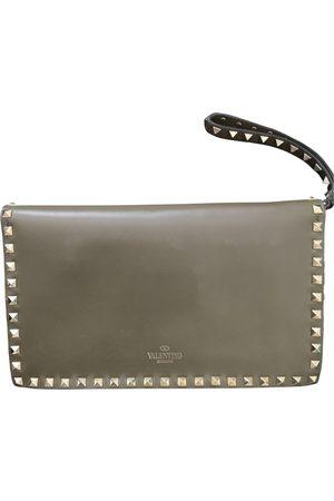 VALENTINO GARAVANI Leather clutch bag
