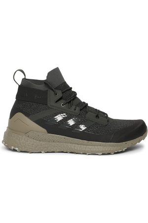 adidas X Parley Terrex Free Hiking Shoes, Black And Beige