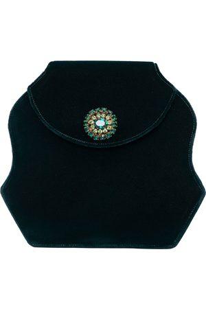 RENAUD PELLEGRINO Velvet clutch bag