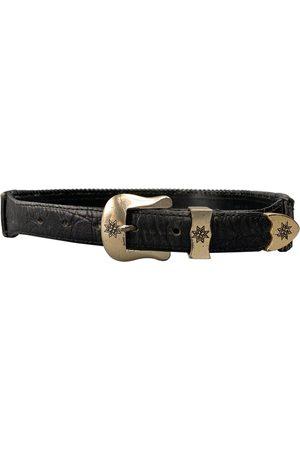 AUTRE MARQUE Leather belt