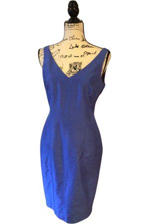 Shelli Segal Linen mid-length dress