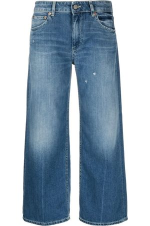 Dondup Cropped Wide-Leg Jeans