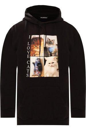 Balenciaga Animal Print Hoodie