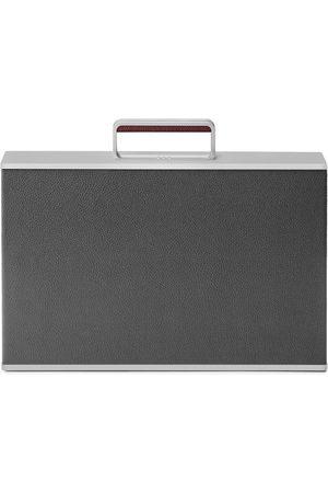 Charles Simon The Webster X Graphite Mackenzie Aluminum Briefcase
