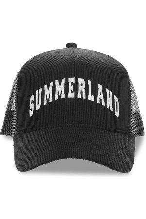 Nahmias Summerland Corduroy And Mesh Cap
