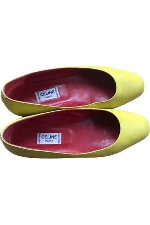 Céline Leather ballet flats
