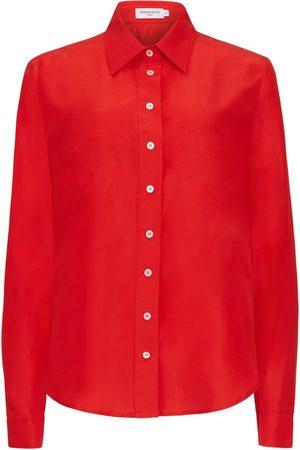 SERENA BUTE The New Serena Shirt - Bright Red