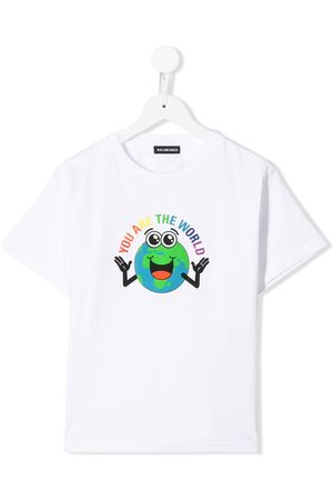 "Balenciaga Kids ""You Are the World"" T-shirt"