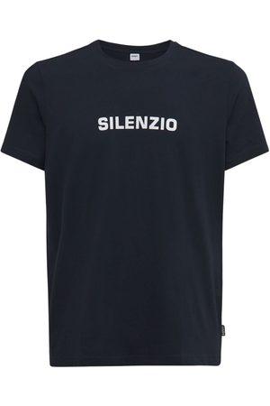 Aspesi Silenzio Print Cotton T-shirt