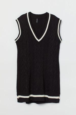H&M Knit Sweater Vest Dress