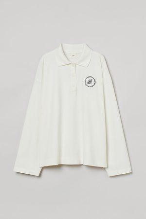H&M Long-sleeved Polo Shirt