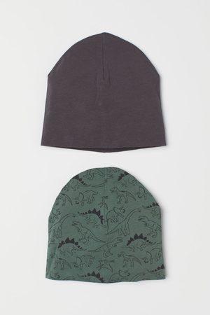 H&M Kids Hats - 2-pack Jersey Hats