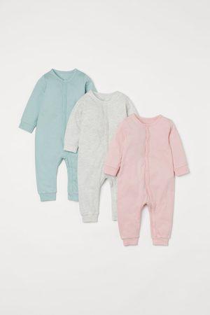 H&M Sweats - 3-pack Cotton Jumpsuits