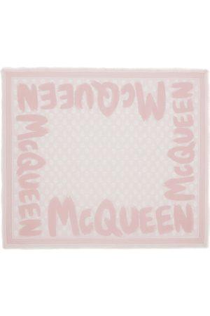 Alexander McQueen Biker Graffiti Scarf