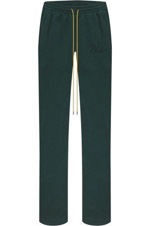 Rhude San Pietro Lounge Pants, Emerald