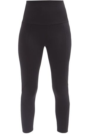 LIVE THE PROCESS Geometric High-rise Stretch-jersey 7/8 Leggings - Womens