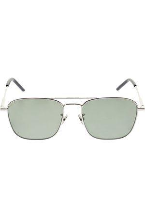 Saint Laurent Women Round - Sl 309 Round Metal Sunglasses