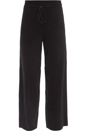 LIVE THE PROCESS Women Wide Leg Pants - Baja Cotton-blend Jersey Wide-leg Track Pants - Womens