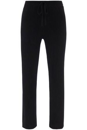 MARQUES'ALMEIDA Ribbed Merino-wool Trousers - Womens