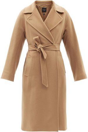 Max Mara Women Coats - Resina Coat - Womens - Camel
