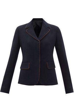 Max Mara Pinide Jacket - Womens - Navy