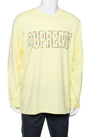 Supreme Cotton City Embroidered Long Sleeve T-Shirt XL