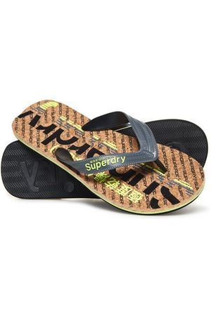 Superdry Men Flip Flops - Cork Colour Pop Flip Flops