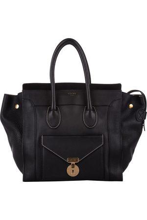 Céline Leather Envelope Luggage Tote Bag