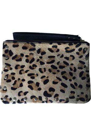 Promod Leather clutch bag