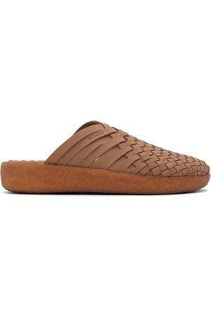 Malibu Sandals Brown Vegan Suede Colony Sandals