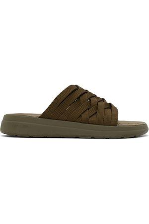 Malibu Sandals Green Nylon Zuma Sandals