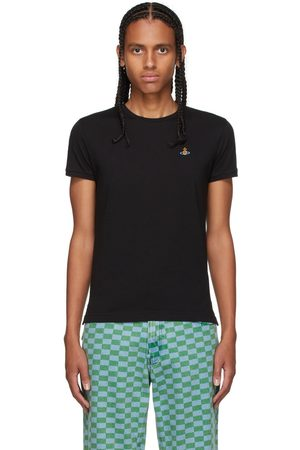 Vivienne Westwood Men T-shirts - Black Peru Orb T-Shirt