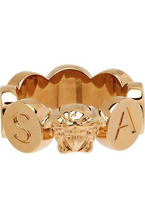 VERSACE Gold Medusa Logo Ring