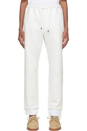 Fendi White 'Forever ' Lounge Pants