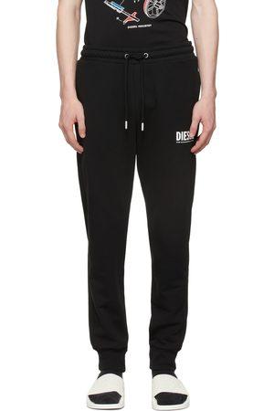 Diesel Black Logo Sweatpants