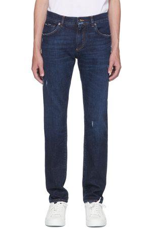 Dolce & Gabbana Men Slim - Blue Slim Jeans