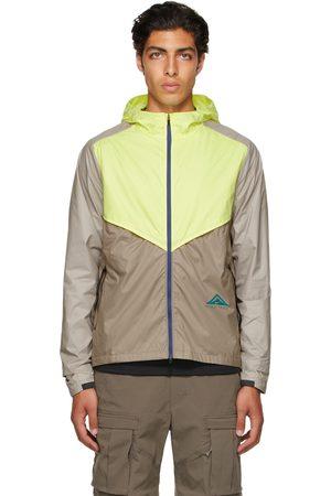 Nike Beige & Yellow Windrunner Jacket