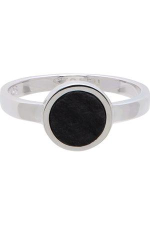 Stolen Girlfriends Club Silver & Black Ocean Ring