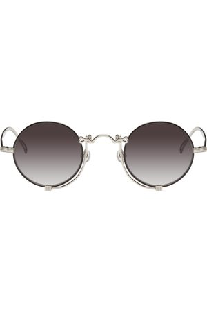 MATSUDA Silver & Black 10601H Sunglasses